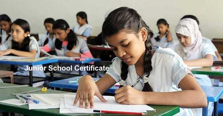 Junior School Certificate